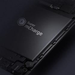 Технология быстрой зарядки Meizu Super mCharge позволяет полностью зарядить аккумулятор емкостью 3000 мА∙ч за 20 минут