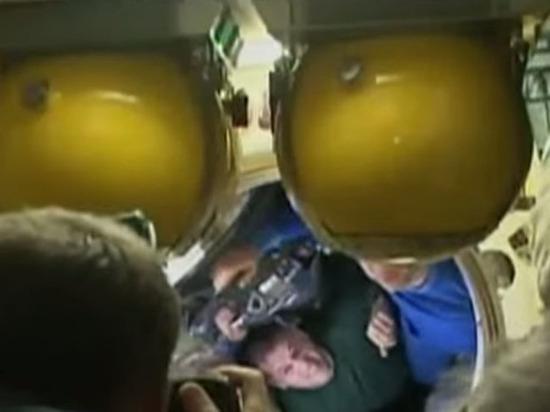 Трое членов экипажа МКС успешно вернулись на Землю