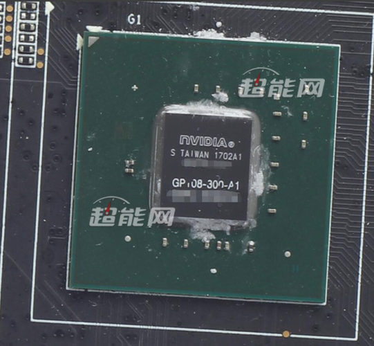 Фото дня: графический процессор Nvidia Pascal GP108-300, на котором построена 3D-карта GeForce GT 1030