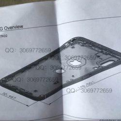 Изображение трехмерной модели iPhone 8 подтверждает наличие дактилоскопического датчика на задней панели