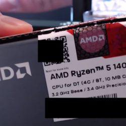Процессор Ryzen 5 1400 сравнили с Intel Core i5-7400 и Pentium G4560 в актуальных играх