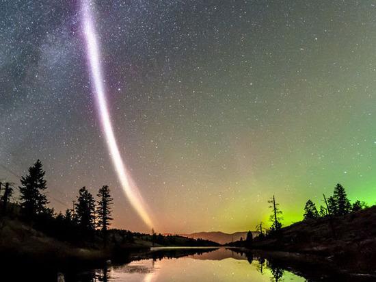 Ученые обнаружили неизвестное науке природное явление — фиолетовую дугу