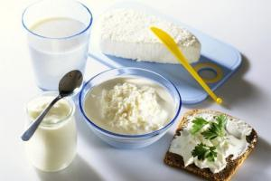 Полезная молочная продукция