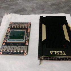 Nvidia показала версии ускорителя Tesla V100 с интерфейсом PCIe, причём одна из них обходится TDP в 150 Вт