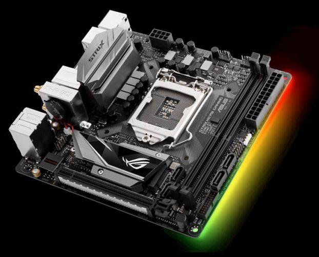 Системная плата Asus ROG Strix H270I Gaming получила сдвоенный радиатор для чипсета и SSD