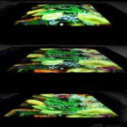 Samsung показала первый растягивающийся дисплей AMOLED