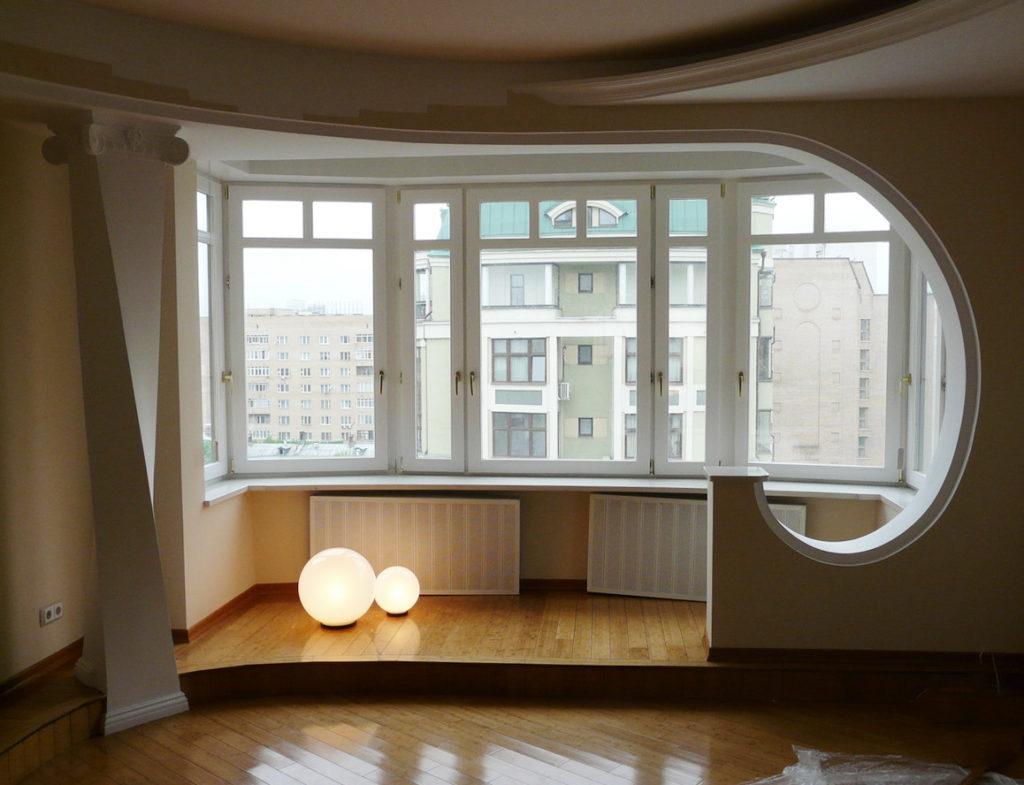 Теплое и холодное остекление балконов и лоджий в москве и об.