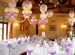 Оформление свадьбы шарами идеи декорирования зала