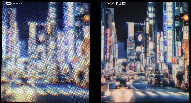 Varjo делает гарнитуру VR/AR с дисплеем разрешением 70 Мп
