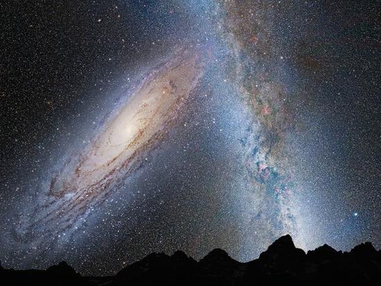 Обнаружены звезды, стремительно бегущие из Млечного пути