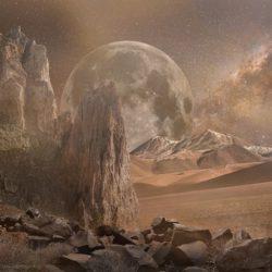Уфологи заметили на Марсе кости инопланетян