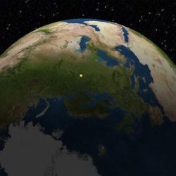 Над землей появился спутник-пирамида «Маяк», который сравнили с Луной