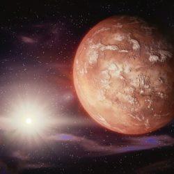 """Хаббл"" снял на видео восход Фобоса над Марсом"