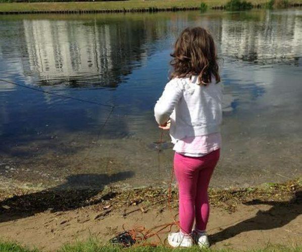 Необычной улов маленькой девочки » Новости со всего мира,Интересные новости,Интересные факты.