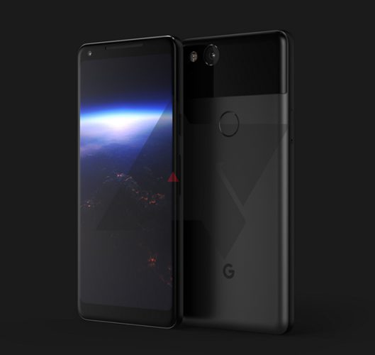 Изображение дня: смартфон Google Pixel XL2