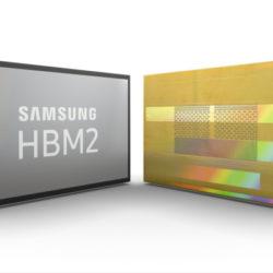 Samsung наращивает выпуск самой быстрой памяти DRAM — микросхем HBM2 объемом 8 ГБ