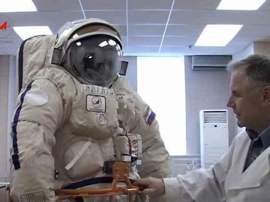Федор Юрчихин впервые протестирует новый скафандр «Орлан-МКС» в космосе