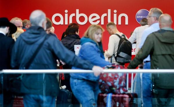 Lufthansa предложила за лопнувшую Air Berlin €200 млн