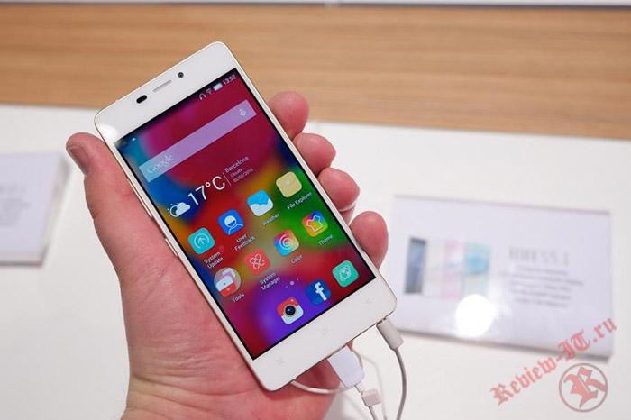 В Сети появились фотографии флагманского смартфона Gionee M7