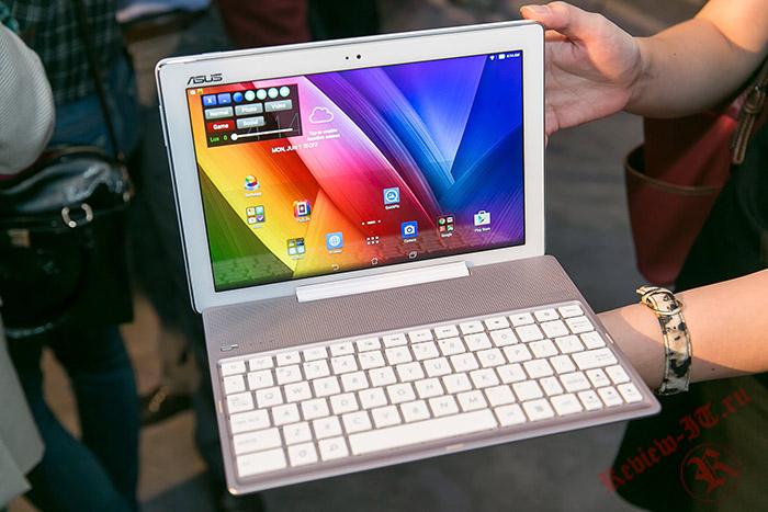 ASUS представила 10,1-дюймовый планшет ZenPad 10
