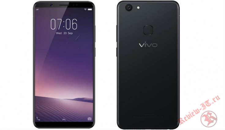 Официально представлен смартфон Vivo V7+