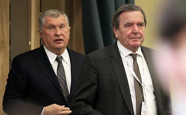 Экс-канцлер Германии избран главой совета директоров «Роснефти»
