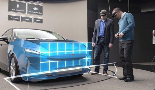 Компания Ford начала использовать Microsoft HoloLens при проектировании новых автомобилей