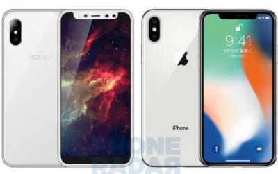 В Китае появился клон iPhone X