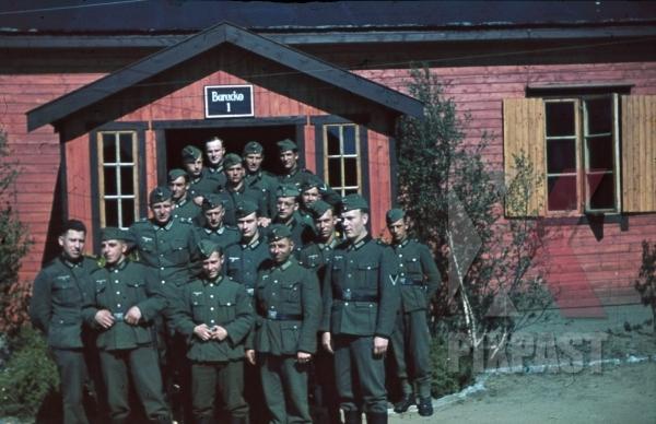 Как служилось оккупантам в солнечной Норвегии. ( 50 фото )