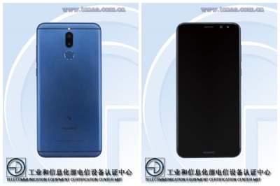 Опубликовано изображение смартфона Huawei Mate 10 Lite