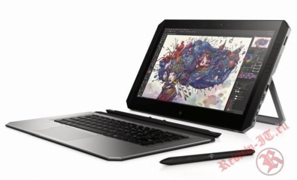 HP продемонстрировала новый гибридный планшет ZBook x2