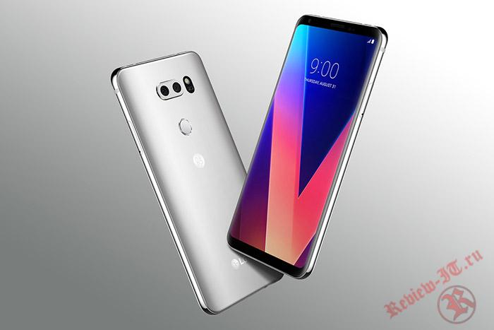Смартфон LG V30 выдержал практически все испытания на прочность