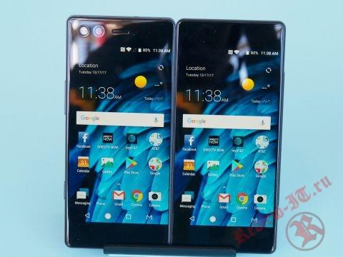В Китае представлен  новый смартфон с двумя экранами