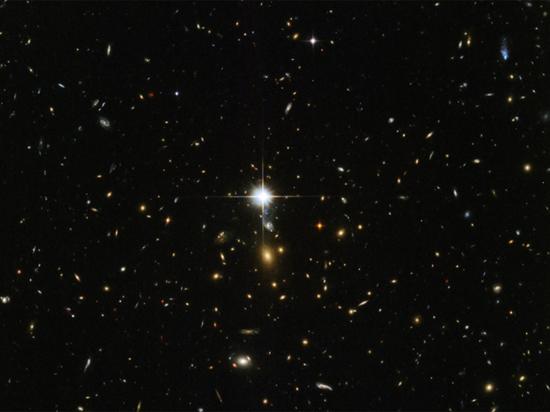 NASA представило красочный снимок «заката» в созвездии Ориона