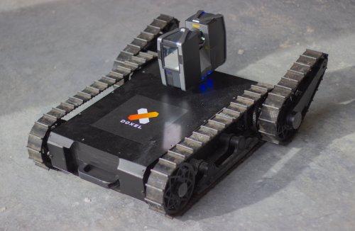 Робот, вооруженный лазерным сканером, будет контролировать скорость и качество выполнения строительных работ