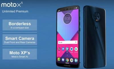 Первые подробности о новых смартфонах Moto