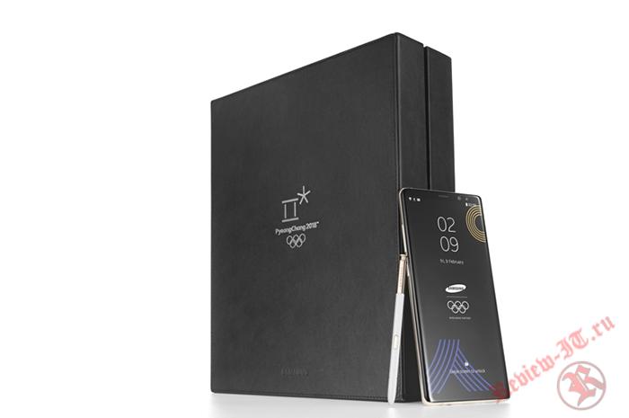 Samsung раздаст участникам Олимпиады эксклюзивный смартфон