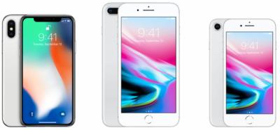 Специалисты объяснили разницу между iPhone X, iPhone 8 и iPhone 8 Plus