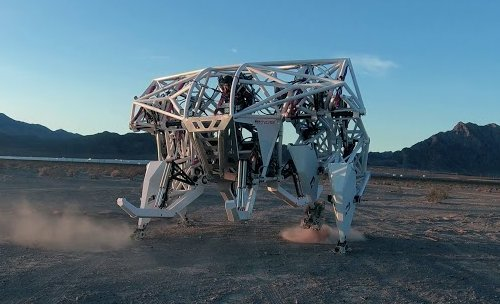 Новый вид робо-соревнований, гонки на роботах, начнутся в ближайшем будущем