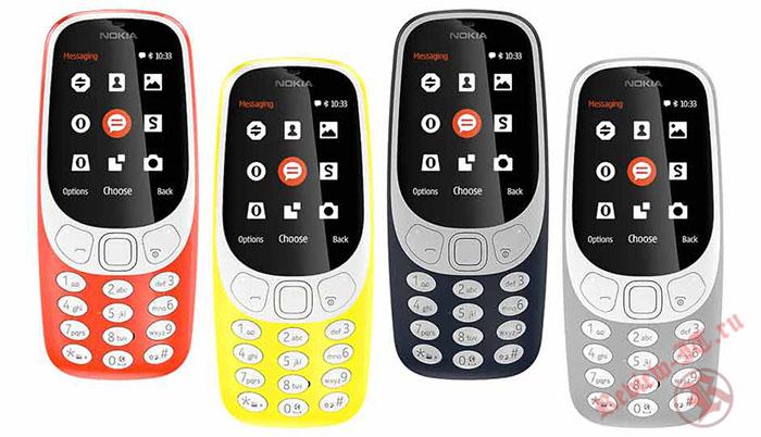 HMD Global представила новую версию Nokia 3310 с 4G