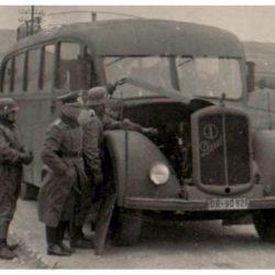 Автобусы для Вермахта.