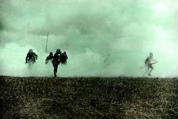 """Голубой Макс"" пехотинца, 1918 год."