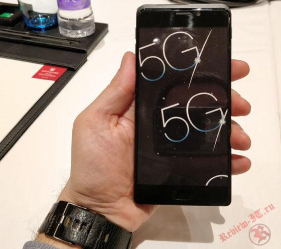 В Сети продемонстрирован первый прототип смартфона с модемом 5G