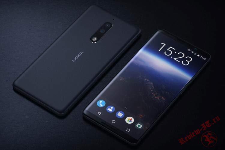 В интернете опубликованы рендеры смартфона Nokia 10