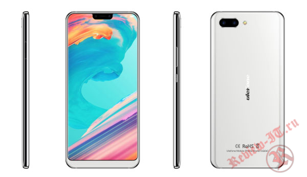 Смартфон Ulefone T2 Pro получил процессор MediaTek Helio P70