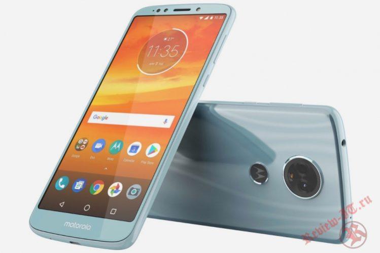 В интернете опубликован рендер смартфона Moto E5 Plus