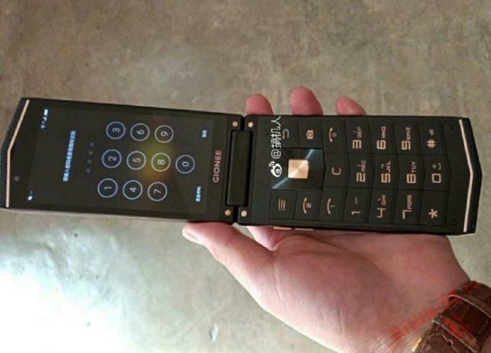 В Сети оказались фотографии прототипа «раскладушки» Gionee W919