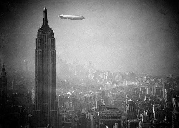 Забытая эра дирижаблей, 1900-1940-е года