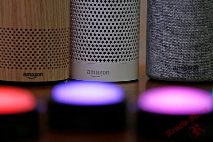 Вместо ответов голосовой помощник от Amazon будет подавать сигналы