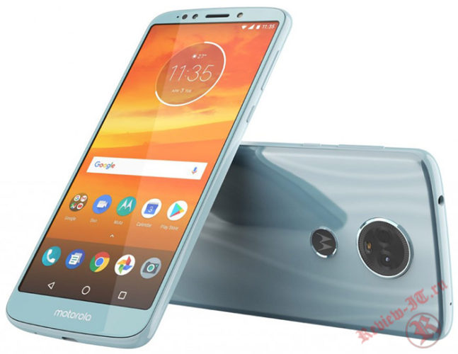 Стали известны характеристики смартфонов Moto E5